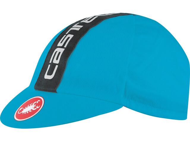 Castelli Retro 3 Cap sky blue/black